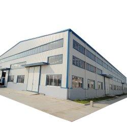 Industrie vorfabrizierte Fertighaus fabrizierte modularer moderner Werkstatt-Lager-Gewächshaus-Gebäude-Entwurf galvanisierte helle Metallstahlrahmen-Aufbau-Zelle