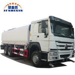 Camión Cisterna de Agua HOWO Especial Pesado 6X4 Carro de Riego Aspersor de Transporte Tanque de Agua en Aerosol Camión Bowser