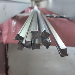 316 Perfil de fio trefilado a frio de Aço Inoxidável Personalizada formando