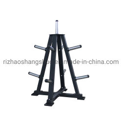 Тренажерный зал вертикальный вес бампер пластину для установки в стойку для хранения