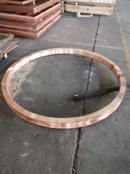 Roda de cristalização de crómio cobre Cucrzr Zircónio Anel Roda Fundida