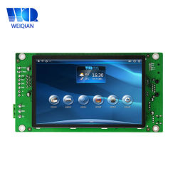 4,3-Zoll-LCD-Display-Modul mit integriertem Touchscreen, Naked WinCE 6,0 Industrie-Panel-PC-Modul ohne Gehäuse