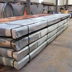 PPGI de haute qualité en usine Feuille d'acier galvanisé de toiture en métal du carton ondulé