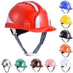Aprovado pela CE ABS Capacete de segurança do equipamento para a edificação e construção, American ANSI preço aprovado para a segurança de protecção Capacete definido no Verão para mineração etc