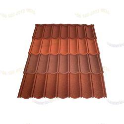 Esthetisch dakontwerp Kleur Metaal-gemetalleerd materiaal met een steencoating San-Gobuild Manufacture daktegels