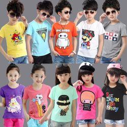 Mischungs-Art-Kind-T-Shirts mit kurzen Hülsen-Aktien (H19-7)