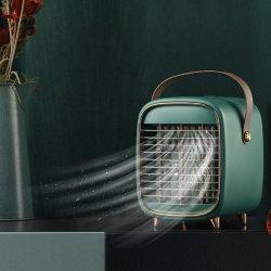 LED 7カラー夜ライトUSBの小型エアコンのMistingのファン水ホーム携帯用エアコンのための蒸気化の空気クーラー