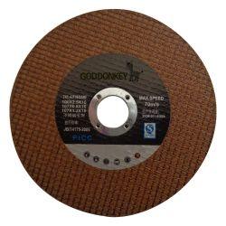 高品質4インチのステンレス鋼の金属の鉄の鋼鉄のための極度の薄い粉砕の切断の車輪