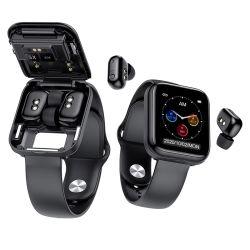 سعر المصنع Sport Tracker سماعات الأذن بدون استخدام اليدين Smart Bracelet Watch SmartWatch سماعة أذن Bluetooth® لاسلكية مع معدل نبضات القلب