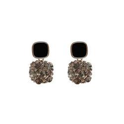 Nieuwe trendy stijl Full Diamond gelaagde oorring