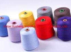 Suprimentos Marca Yizheng Fibras descontínuas feitas Tubo Tingimento 20S/2 Tfo fiação de fibras de poliéster para máquina de Enrolamento