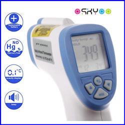 Pistola de medición de temperatura del bebé no contacto frente digital de oído termómetro por infrarrojos