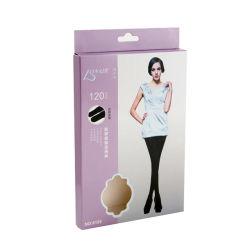 Venta de productos personalizados de repoblación Pantyhose Legging de cartón Caja de papel colgando envases para mostrar