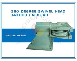 Marineliegeplatz-Form-Stahl, der 360 Grad-Schwenker-Anker-Führungsrolle rotiert