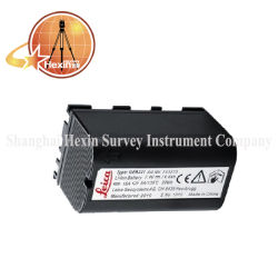 Nuova compatibilità per Leica GPS Geb221 batteria agli ioni di litio da 4,4 ah