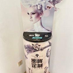 Freie stehende Handelsbildschirmanzeige, die Gerätsignage-Kosmetik-Standplatz-Kiosk bekanntmacht