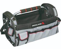 調節可能なパッドを入れられた肩ひもの耐久の防水金属のハンドルの道具袋