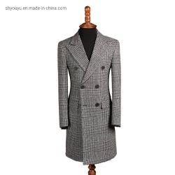 [تثرن-دوون] طوي فصل خريف شتاء صوف معطف كشمير [منس] طبقة