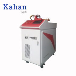 ماكينات اللحام بالليزر معدنية طراز KH-H10، موضع تلقائي من الألومنيوم المقاوم للصدأ من الفولاذ المقاوم للصدأ تكلفة ماكينة لحام الليزر المحمولة باليد المصنوعة من الألياف الملحمة