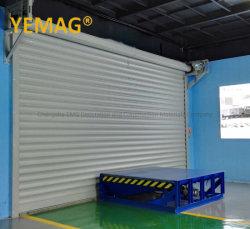 Commerce de gros de sécurité automatiques des frais généraux d'aluminium métallique isolé Rouleau Coupe rolling rouler porte de garage de l'obturateur