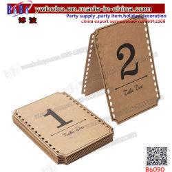党製品型の出来事のブラウンクラフト表は番号を付ける1-12年の結婚の装飾(B6090)に