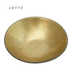 Vajillas de porcelana Venta caliente tazón de cereales de cerámica impresa de oro