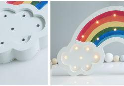 Bolylight LED Hauptdekoration-Licht der batteriebetriebener Regenbogen-geformtes Nachtlicht-Weihnachtslicht-LED