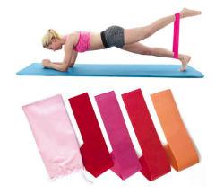 4PCS сопротивление контура Band упражнение йоги полосы резиновые спортивная подготовка численность