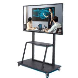 Monitor LCD interattivo Made in China schermo piatto 4K a 60 Hz Altoparlanti microfono per fotocamera schermo LED touch a infrarossi da 85 pollici SmartBoard per l'istruzione
