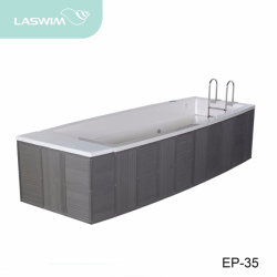 Baignoire de massage Piscine infinie (PE-35)