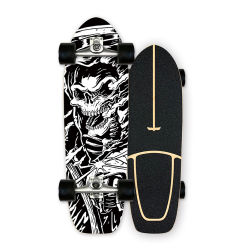 Venta directa de fábrica de arce de madera de arce canadiense Geele personalizados de surf de la Tierra Skateboard con CX4/CX7/S7 Carretilla