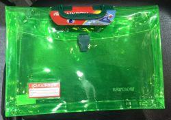 De Handtas van pvc met Handvat en Knoop