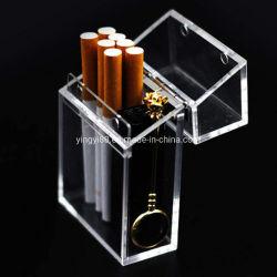 Logotipo personalizado promocional de cigarros de acrílico titular de exibição