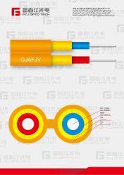 Zip-Cord Cable óptico de Interconexión de 2 núcleos Gjafjv