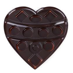 초콜렛과 사탕 해산물 플라스틱 쟁반을%s 처분할 수 있는 플라스틱 음식 쟁반