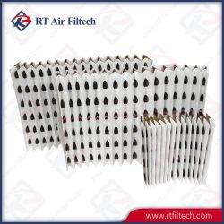 Filtreerpapier van de Verf van het Filtreerpapier van de Lucht van Andreae Het v-Type Geplooide Droge