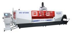 3 axe Profil de vitesse rapide de haute précision Centre de traitement des composites avec système de refroidissement à eau pulvérisée Mg-Sf4500 de coupe