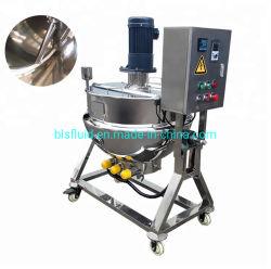 Caldaia di cottura industriale rivestita piena dell'acciaio inossidabile/caldaia industriale di pressione del vapore/fornello rivestito