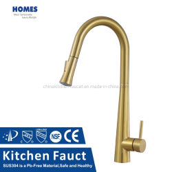 304 Fios de aço inoxidável de banho cozinha lavabo água da bacia hidrográfica do banho de chuveiro Chuveiro Lavatório Torneira Misturador de toque