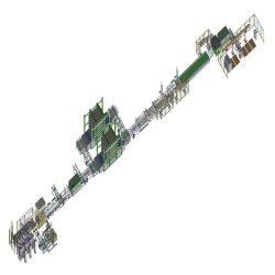 10MW PV Módulo Solar Painel Solar da linha de produção da linha de montagem da linha de comando manual