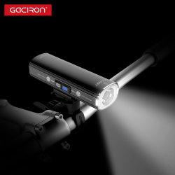 Gaciron 2021 новейший 1000 люмен Smart рабочей велосипед лампы передних фар и габаритных огней 2 в 1 велосипеда лампа USB аккумулятор светодиодная лампа освещения велосипеда велосипед