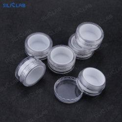 piccoli recipienti di plastica liberi dell'alimento del contenitore del concentrato dell'olio della cera dello stagno di memoria 5ml con il coperchio