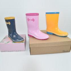 De Laarzen van de Regen van Wellies van de Schoenen van de Regen van de Kinderen van de Jonge geitjes van de Meisjes van jongens