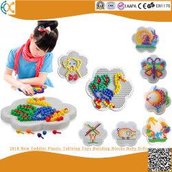 2018 Nuevo tablero de plástico pequeños bloques de construcción de juguetes de bebé regalos