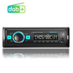 Autoradio MP3-speler 12 V 1 DIN-autoradio DAB + FM-radio met draadloze BT/TF-kaartspeler/ handsfree/Aux/ USB Muziek