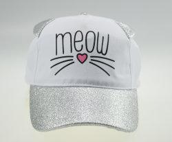 BSCI 아이 대조는 Meow 모양 귀 플랩 스포츠 야구 모자를 착색한다