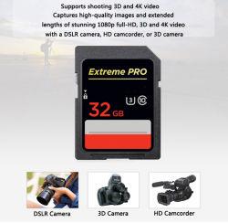 Professional 600x 16 Go de carte SD 32 Go de carte SDXC SDHC 64 Go de 128 Go de 256 Go de mémoire haute vitesse de la classe de la carte10 90Mo/s UHS-I