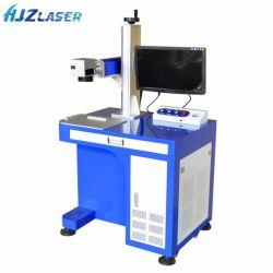 유연한 Z 축선 Green/UV/Fibre/CO2는 근원 Smema 자동 연기 탐지 장치 및 공용영역을%s 가진 Laser 헤드 1d 제 2 패턴 Laser 표하기 기계 왔다갔다 이중으로 한다