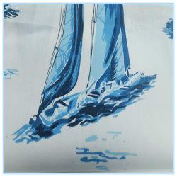 Tecidos de algodão veleiro tecido de impressão