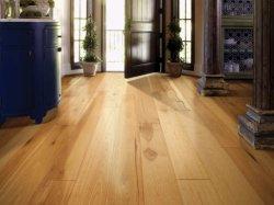 Parquet en chêne en bois solides les carreaux de plancher en bois dur